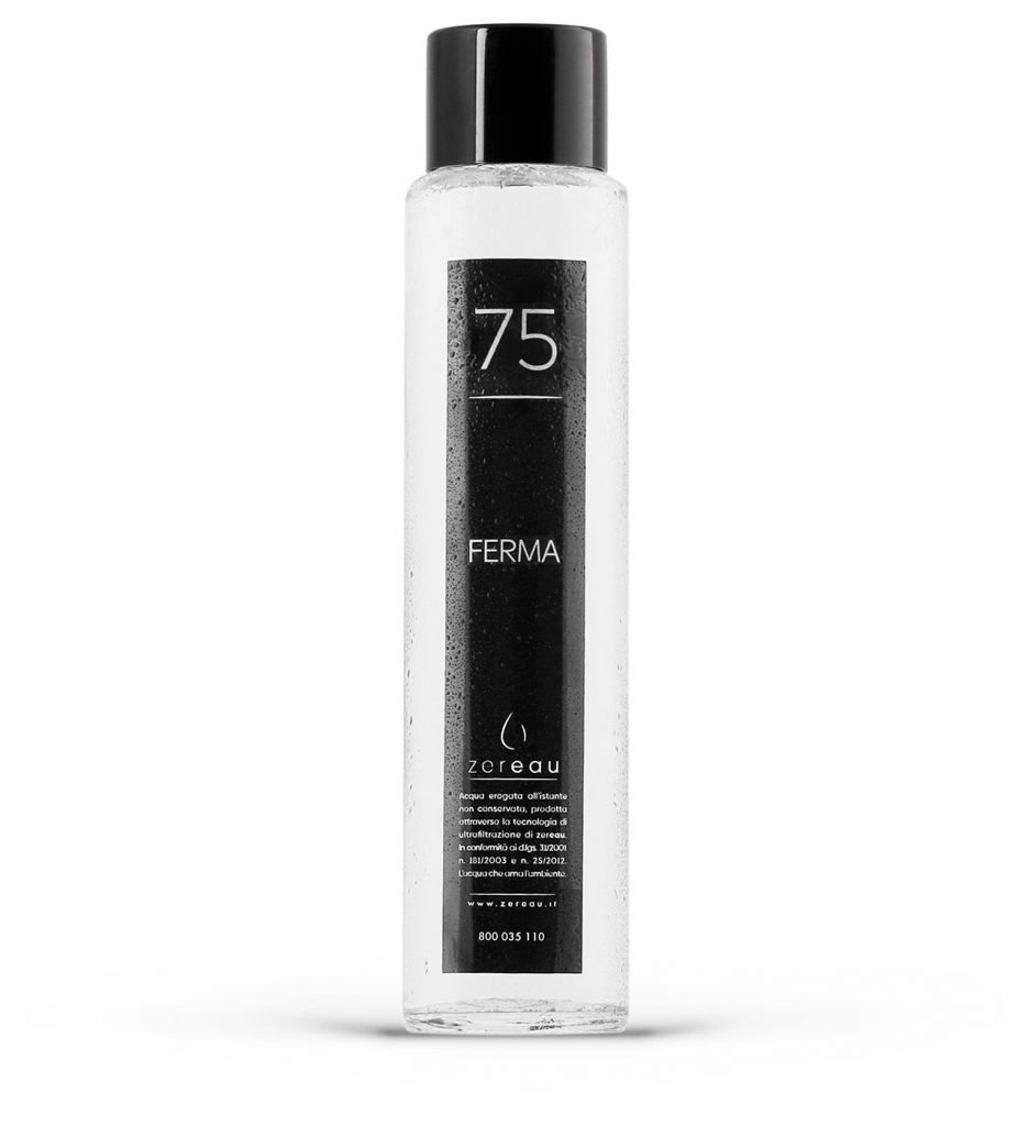 bottiglie per acqua alla spina Cilindrica Ferma 75