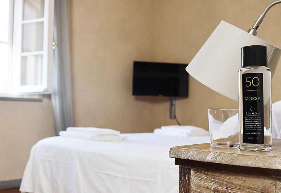 acqua ultrafiltrata per hotel